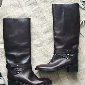 J. Crew Leather Parker Boots BNWOT
